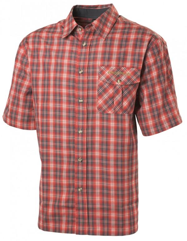 Pánská kostkovaná košile èervená