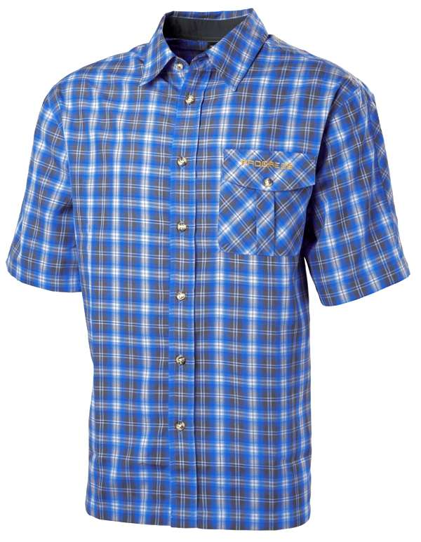 Pánská kostkovaná košile modrá
