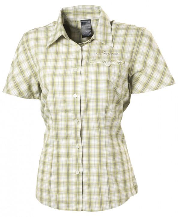 Dámská kostkovaná košile zelená